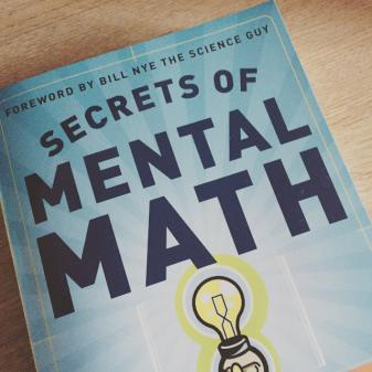 Secrets of Mental Math Book CTC Aviation Selection